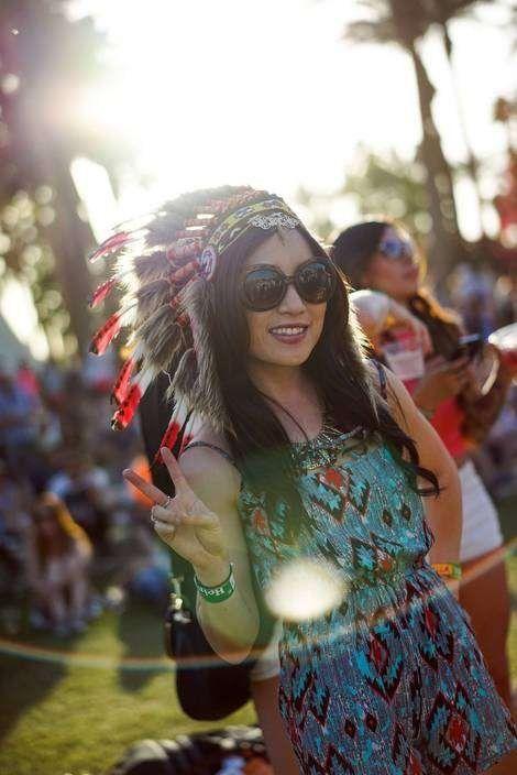 A Music Festival Finally Banned Native-American-Style Headdresses | Fashion - Yahoo Shine