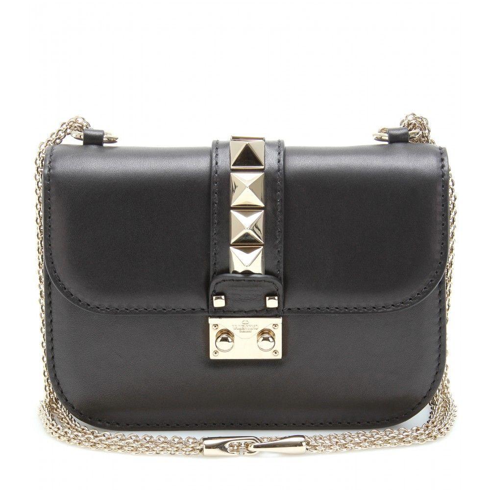 Rock Studded Falp Bag Designer Womens