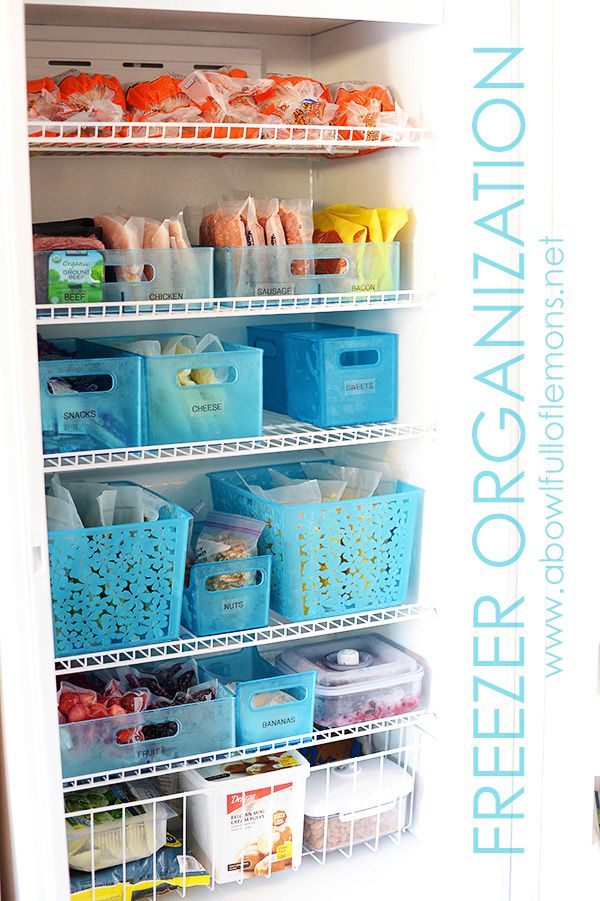 Freezer Organization Using Post It Brand Notes Can Make It