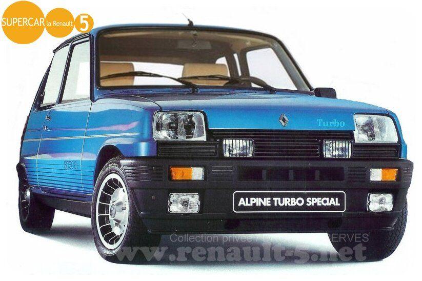 renault 5 alpine turbo special cars pinterest carro deportivos autos y carritos. Black Bedroom Furniture Sets. Home Design Ideas