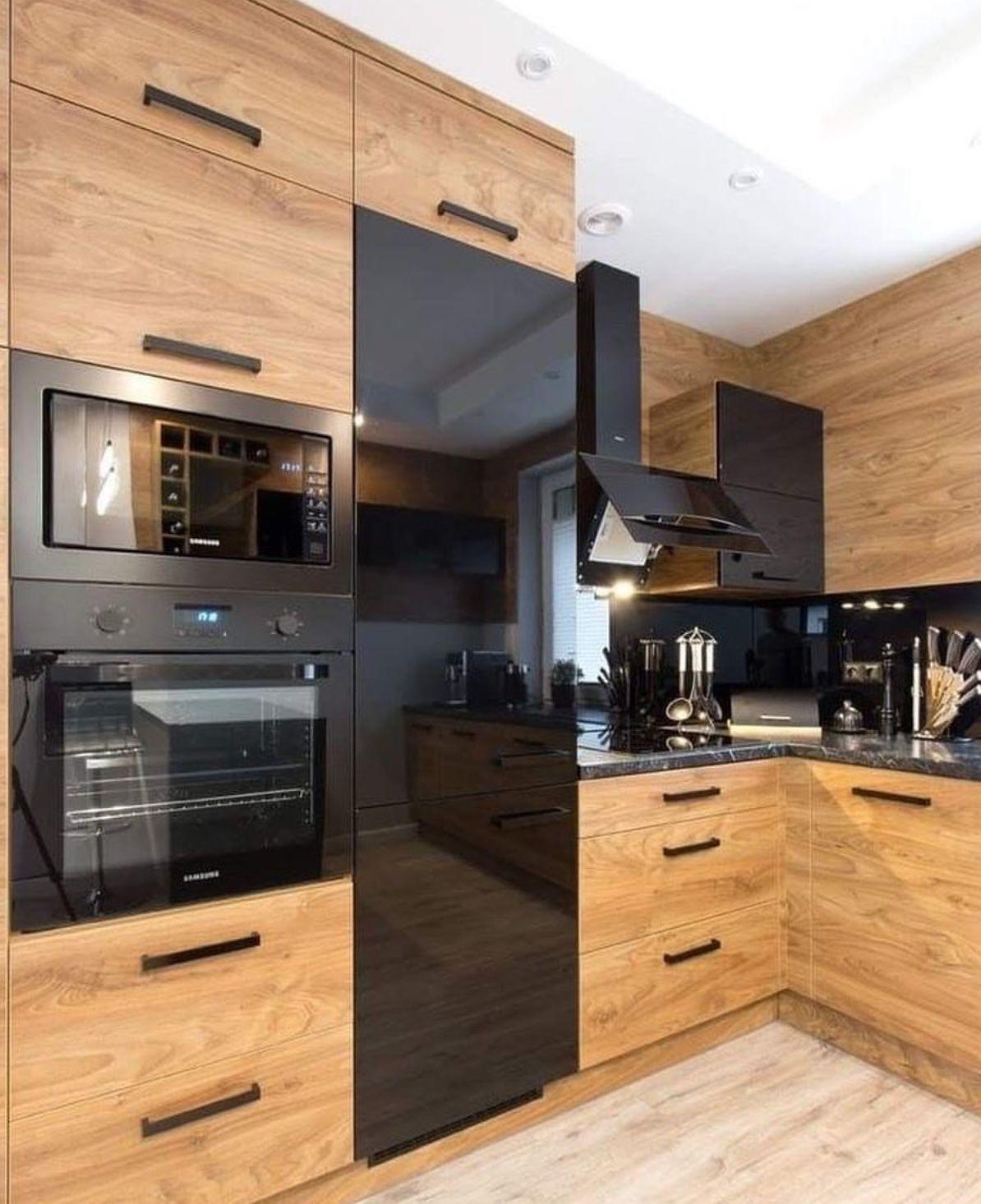 Современная угловая кухня — 23 восхитительных решения для дома ...