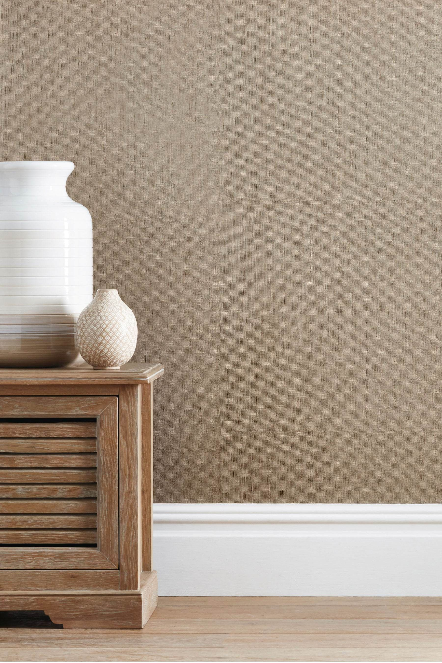 Buy Paste The Wall Linen Look Wallpaper From The Next Uk