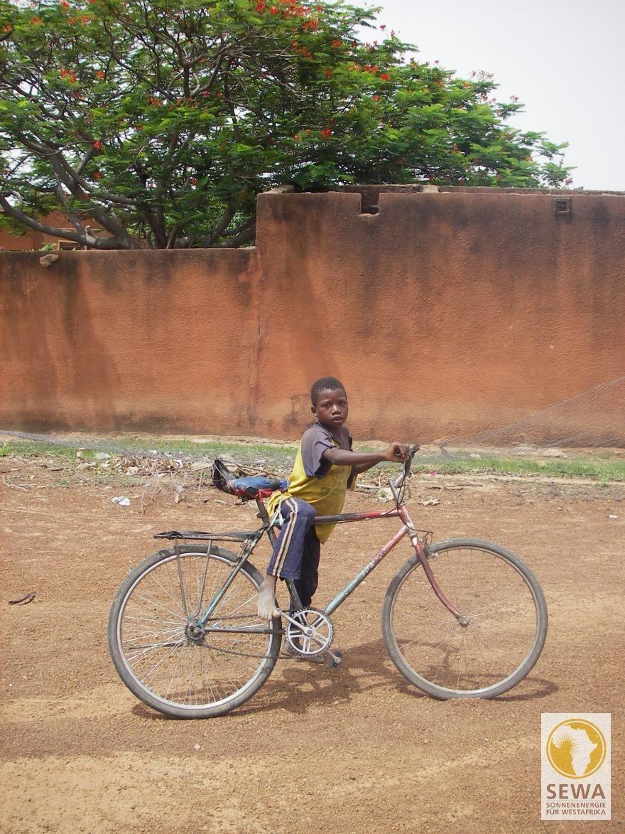 Mit dem fahrrad durch afrika
