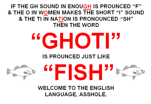 hahaha the english language!