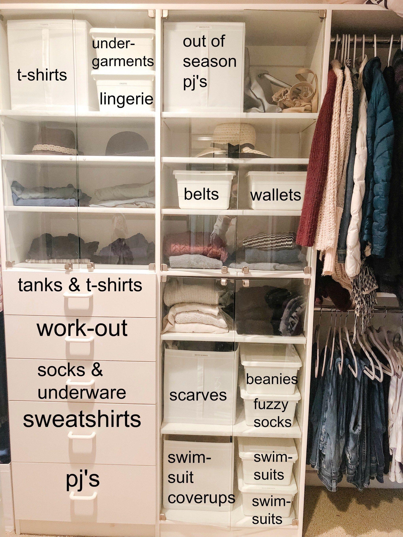 How I Organized My Closet Clothes Closet Organization Mens