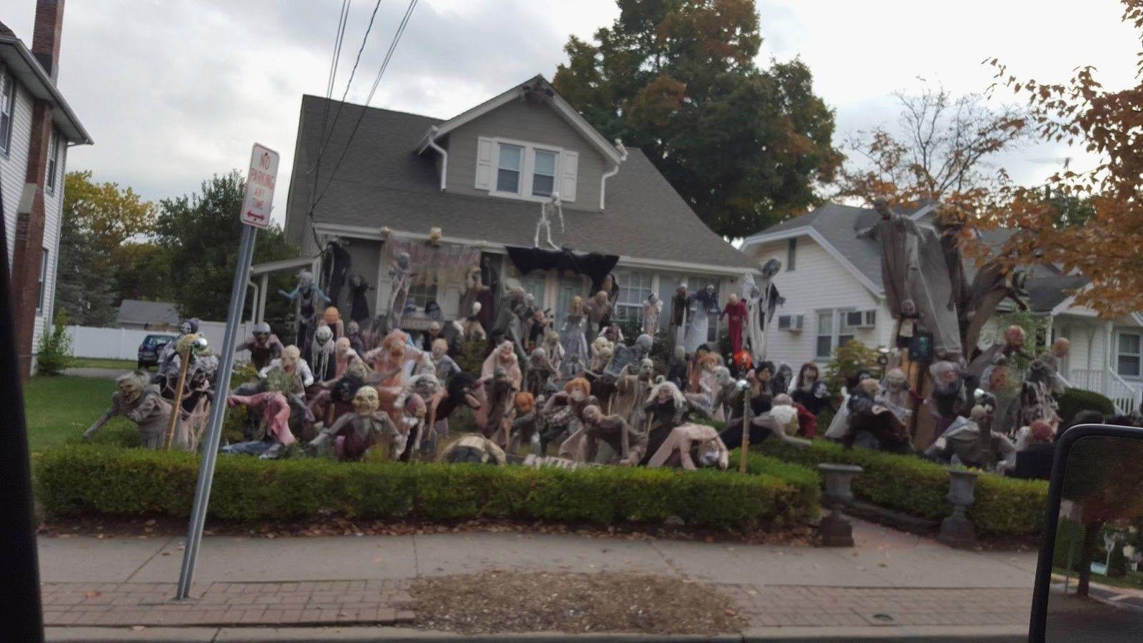 best decorated halloween houses brilliant halloween house