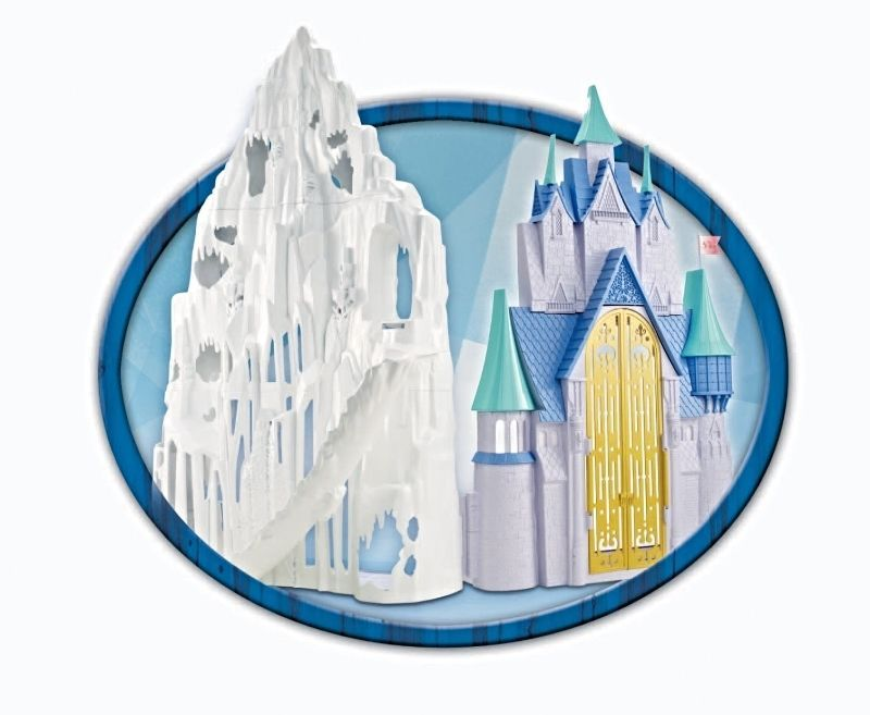 Frozen Castle Disney Ice Elsa Playset Palace Anna Store Olaf New Play Set Musica #Disney ...