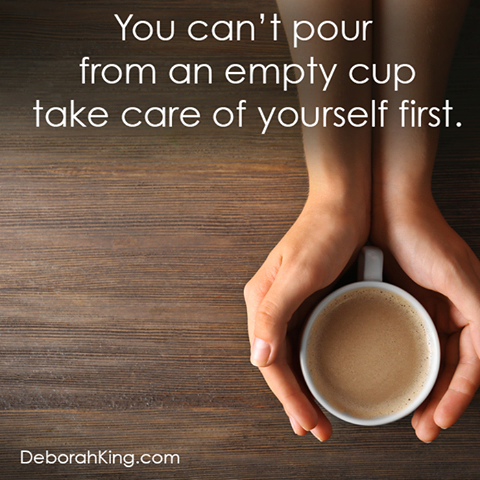 Inspirational Quote You Cant Pour From An Empty Cup Take Care Of
