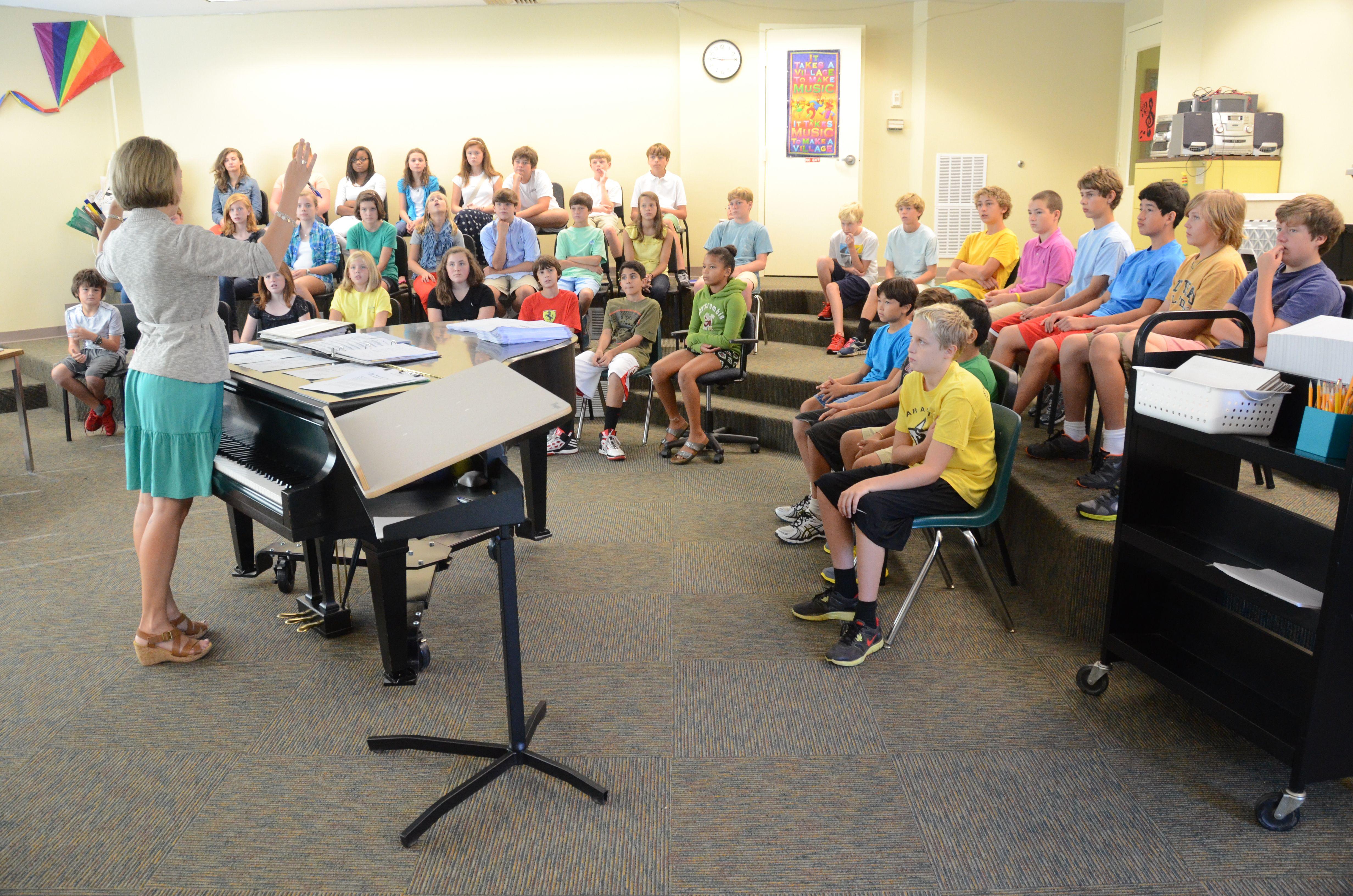Upper School Music Class