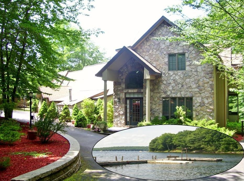 Lodge vacation rental in lake wallenpaupack from