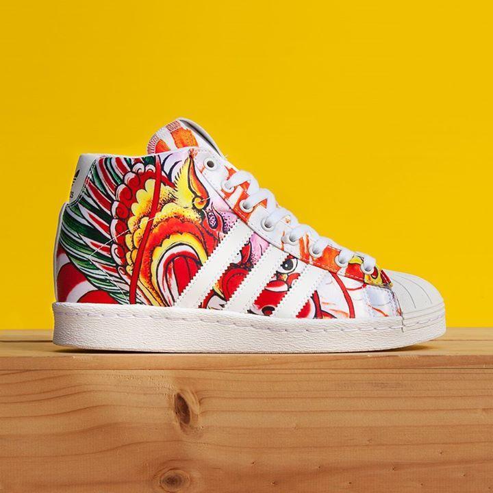 Rita Ora X Adidas Superstar Up Dragon Tattoo Adidas Design Rita Ora Adidas Chuck Taylor Sneakers