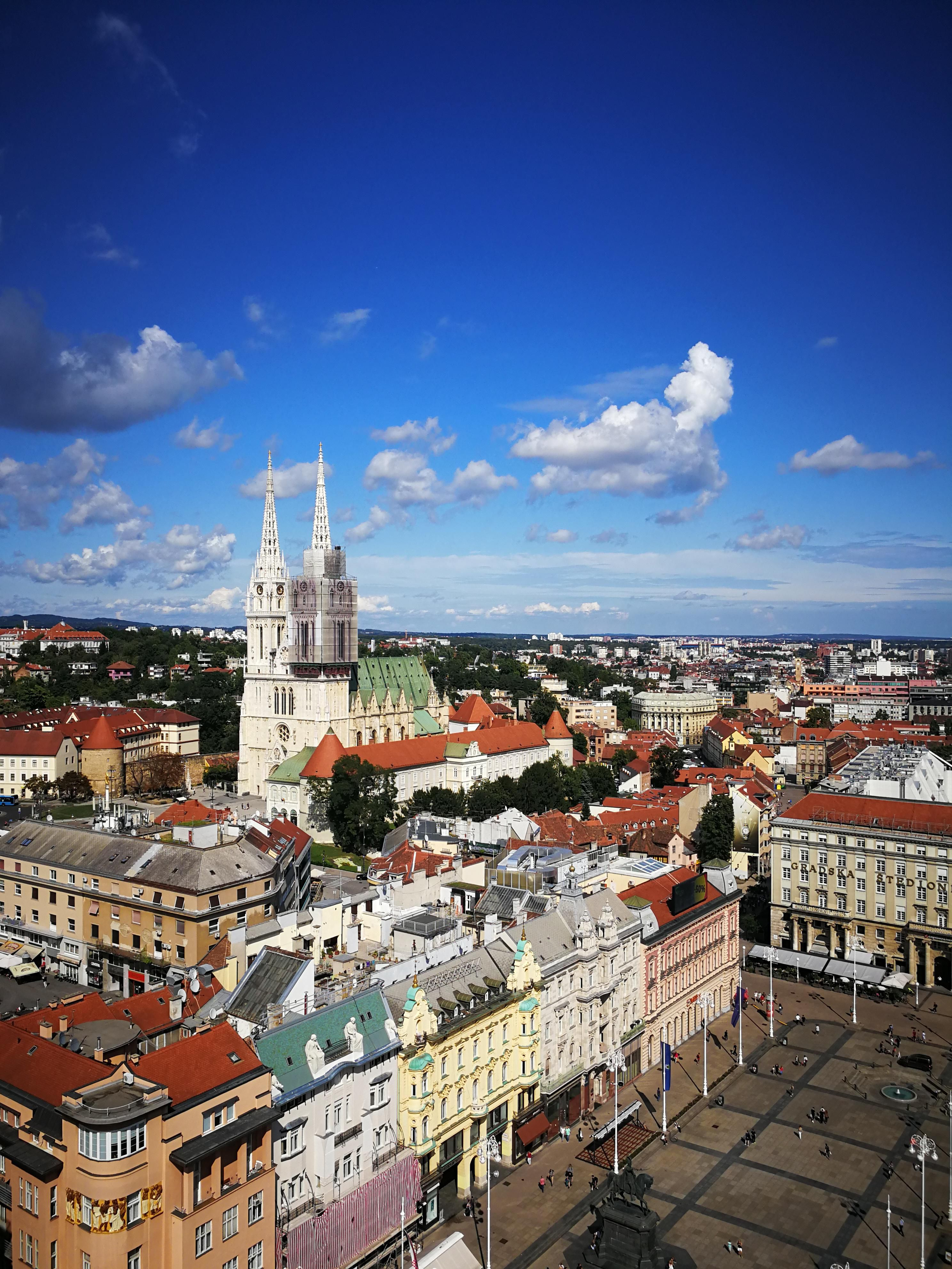 Zagreb Croatia City Cities Buildings Photography Zagreb Croatia Zagreb Croatia