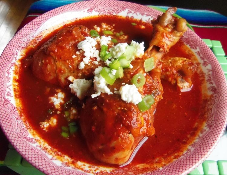 Chilate de Pollo is a recipe I came across while searching for Mexican recipes with epazote. I would have loved  …  Continue reading →
