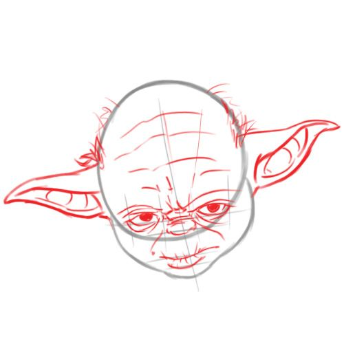 Desenhar O Yoda De Star Wars