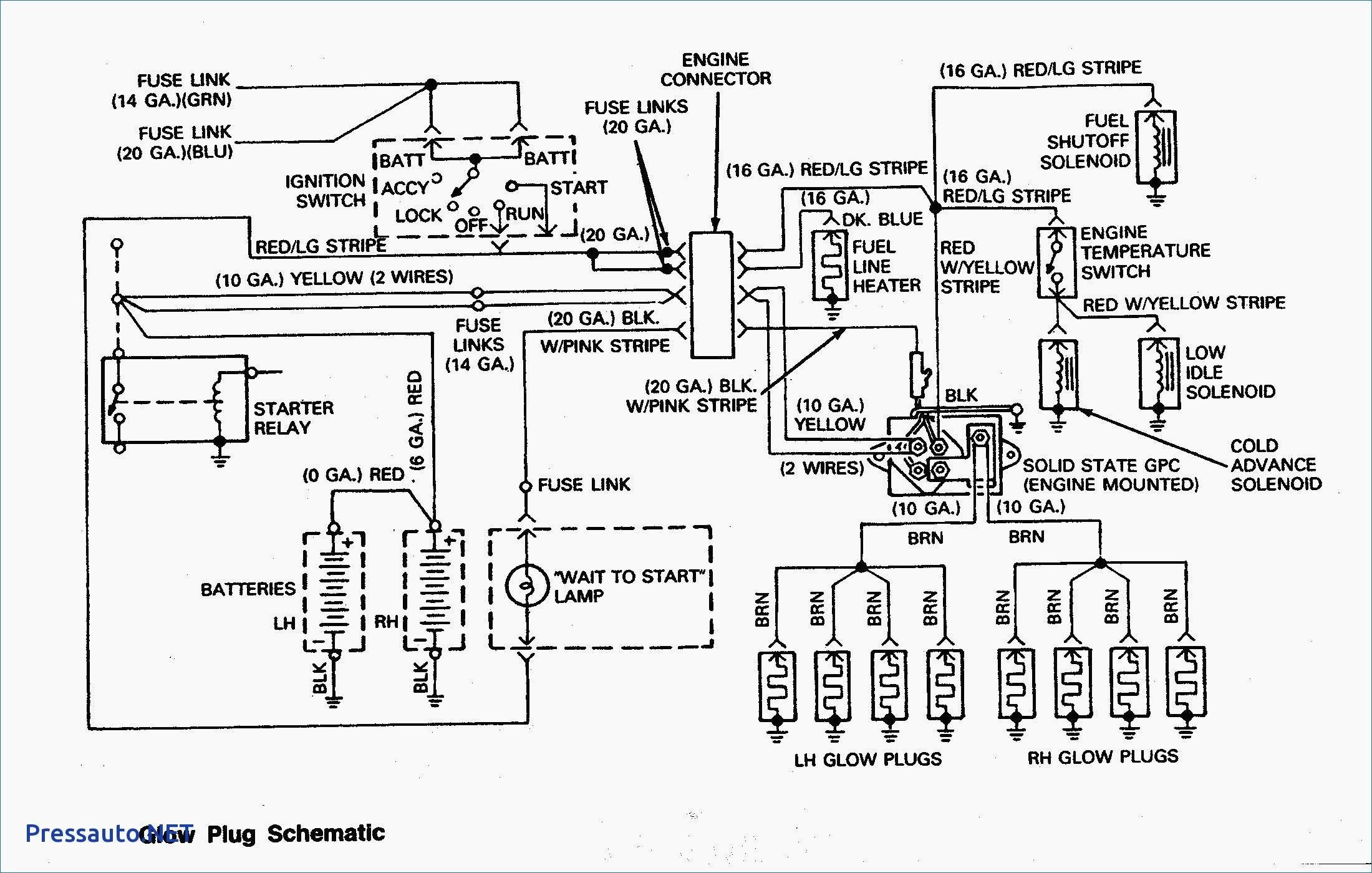 Schematic Diagram Of Diesel Engine Trailer Wiring Diagram Engine Tune Diagram