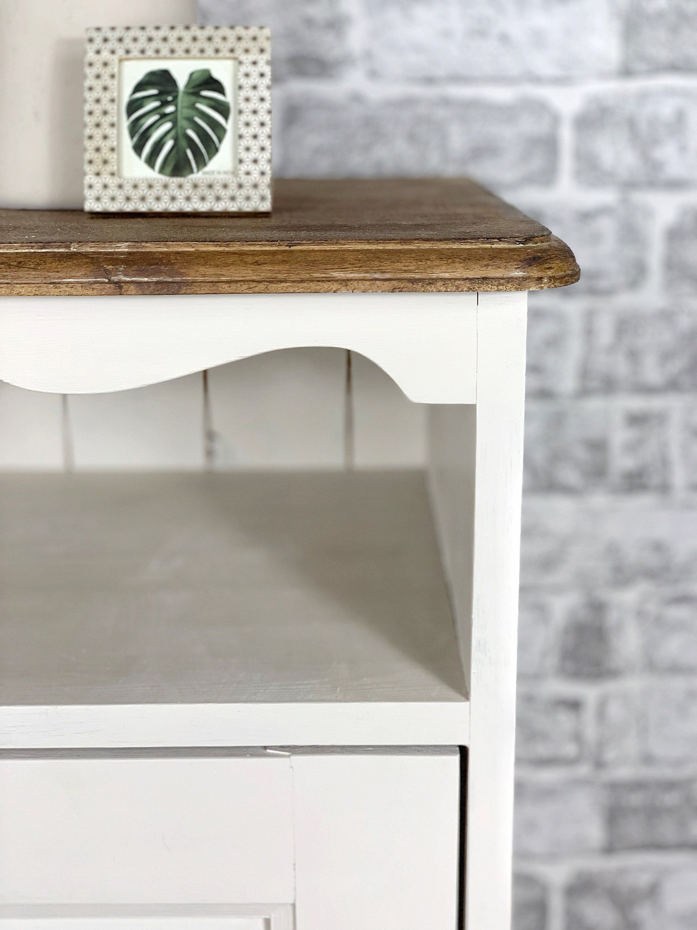 Rustic Wood Bedside Table: Rustic Bedside Table, End Table, Bedroom Table, Cabinet