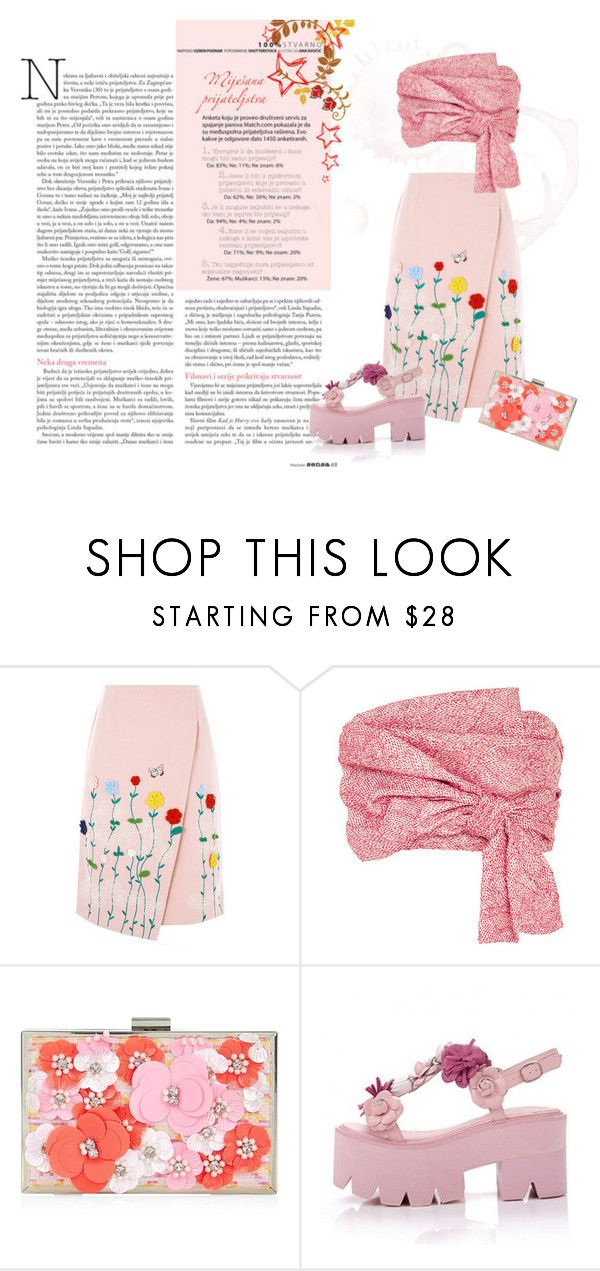 """""""summer pink"""" by liliapetrivna on Polyvore featuring мода, VIVETTA, Adeam и New Look"""