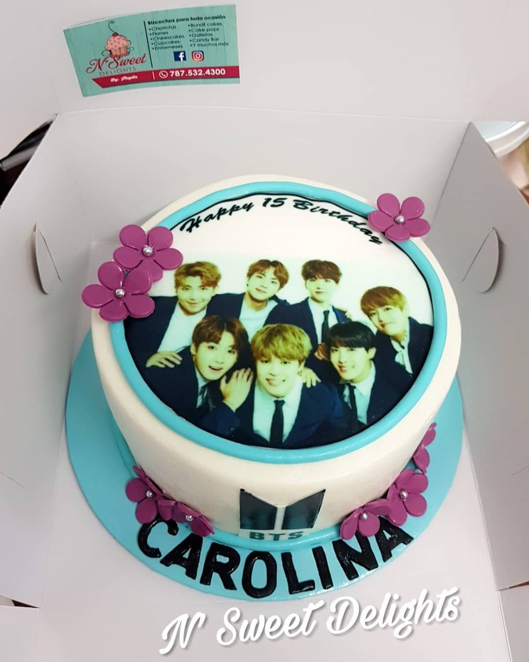 Bts Birthday Cake Nsweetdelights Btscake Birthdaycake Bts Cake Bts Birthdays Cake