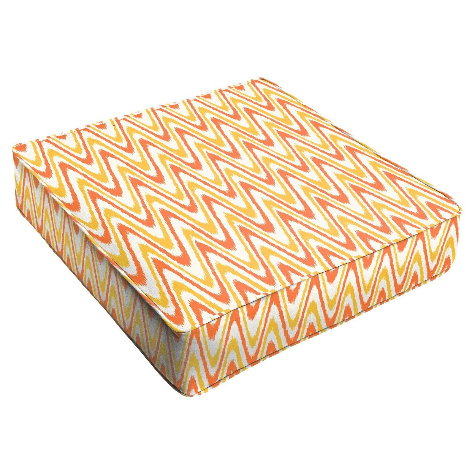 Mozaic company jiggly outdoor corded square cushion hncs