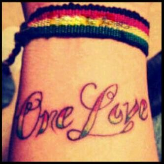 One love tattoo images galleries with for One love tattoo designs