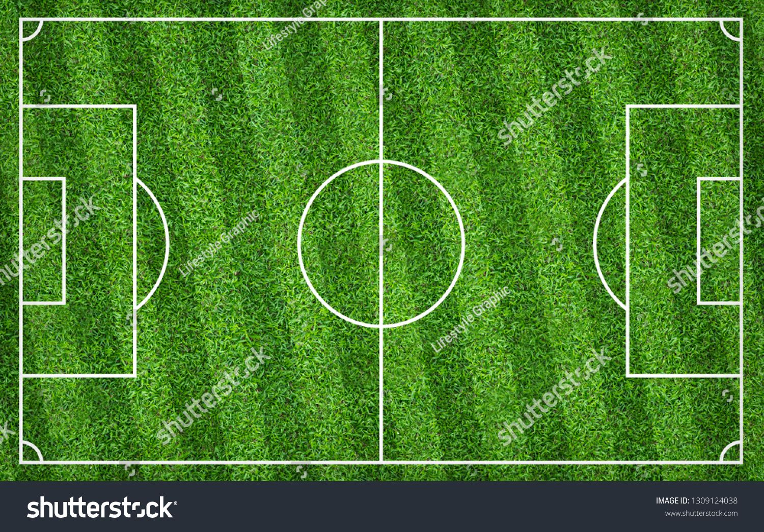 Football Field Or Soccer Field For Background Green Lawn Court For Create Sport Game Ad Ad Background Gr Soccer Backgrounds Football Field Soccer Field