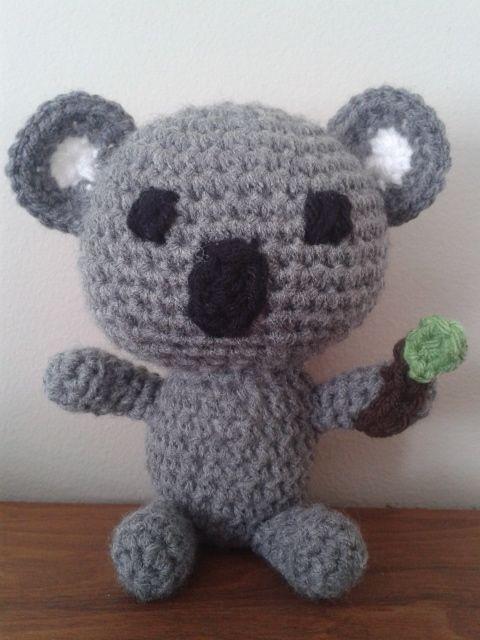 Free Koala Crochet Amigurumi Pattern Crochet Ideas Pinterest