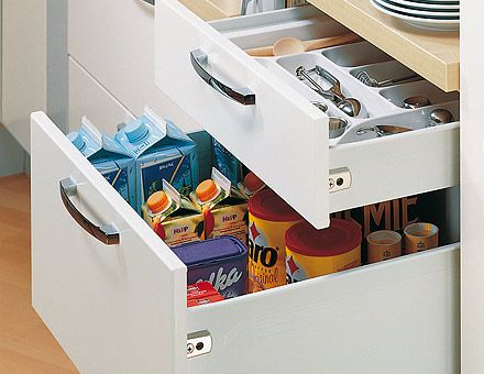 The Hettich MultiTouch Drawer Systems Are Strong, Economical, And Easy To  Adapt To Your