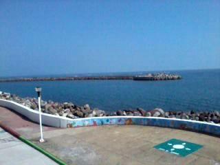 Veracruz, México. Vista desde el acuario.