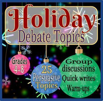good debate topics for grade 8