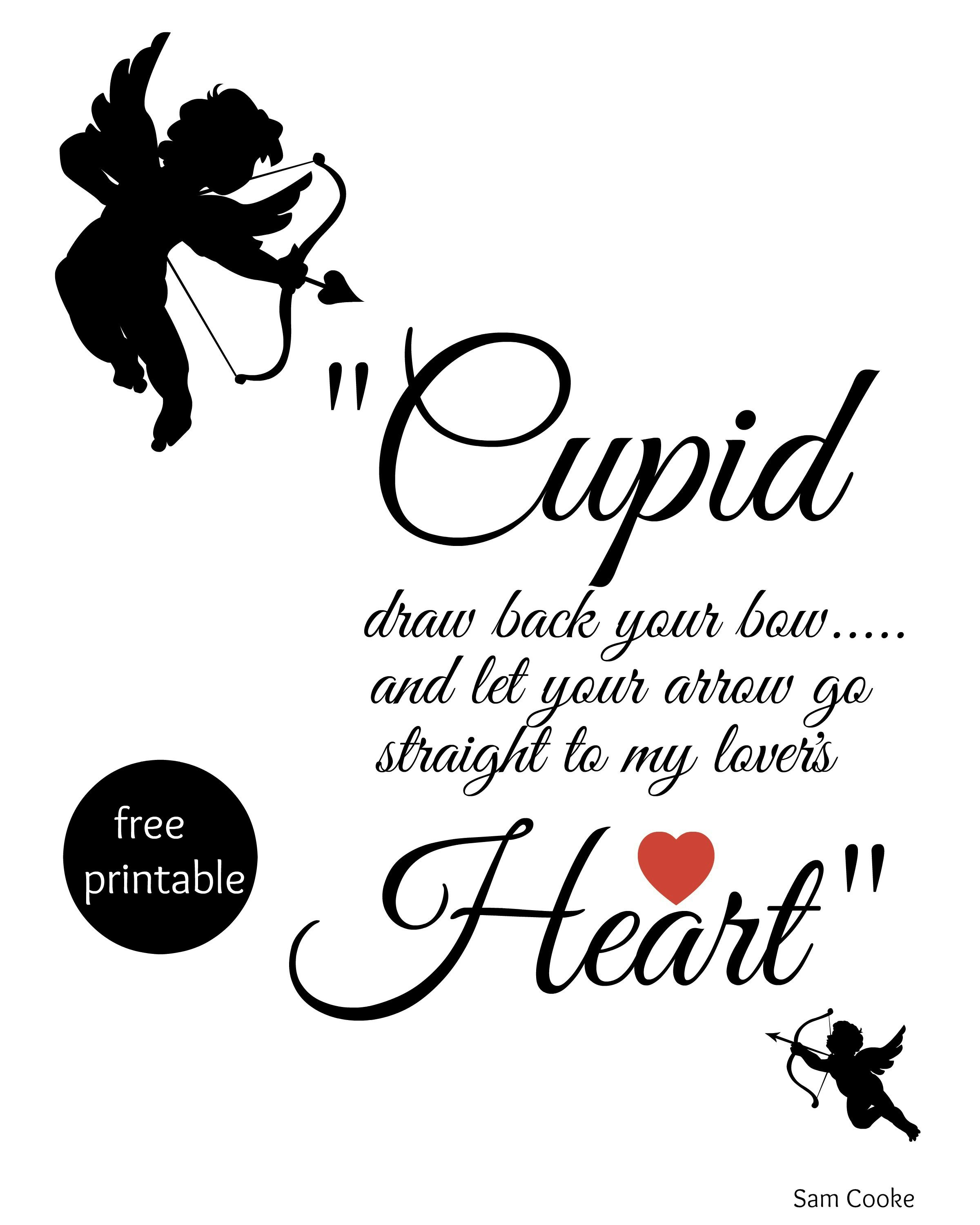 Cupid Draw Back Your Bow