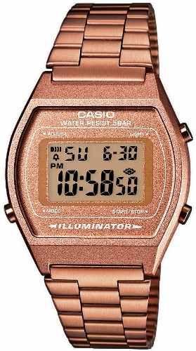 660db25b0733 Reloj Casio B640 Retro Señal Horaria Alarma Cronometro Luz -   589.00 en  MercadoLibre