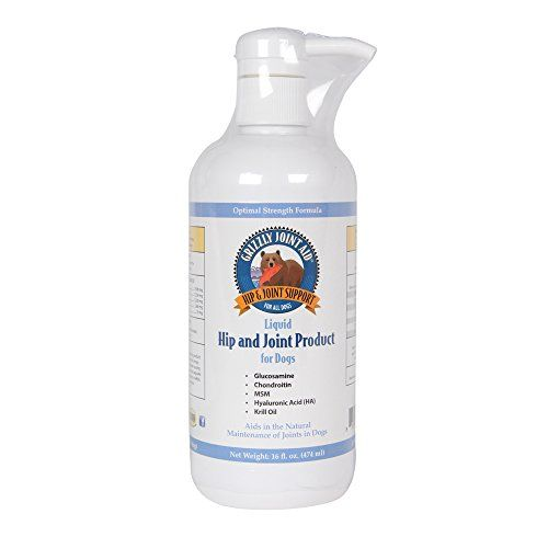 Grizzly Pet Products Joint Aid For Dogs Liquid 16 Oz Want To Know More Click On The Image Note It Is Affiliate Dog Joints Dog Glucosamine Pet Supplements