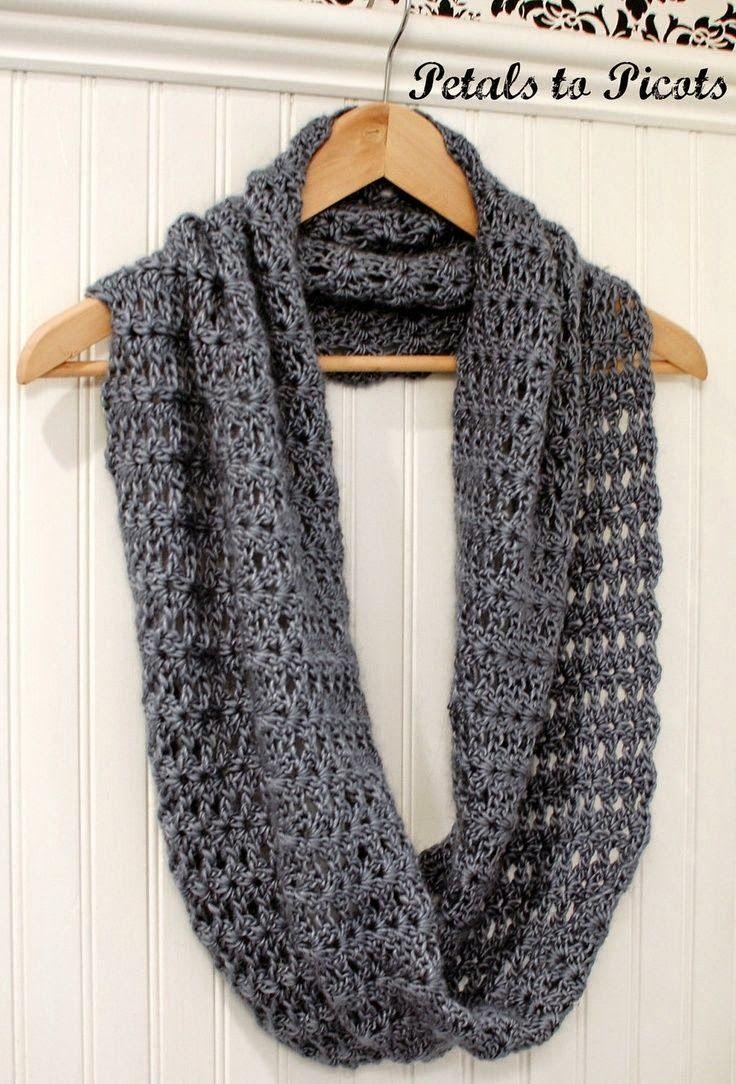 Infinity scarf crochet pattern | Crochet Patterns | Pinterest ...