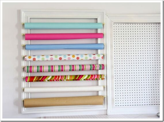 How To Make A Gift Wrap Organizer Creative Wall 3 Wrapping