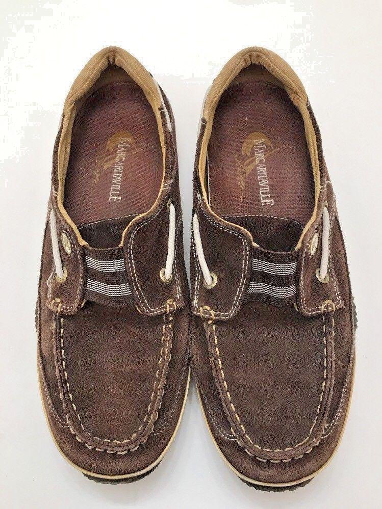 Margaritaville Jimmy Buffett Women's Boat Shoes Size 8 Brown One Love Suede