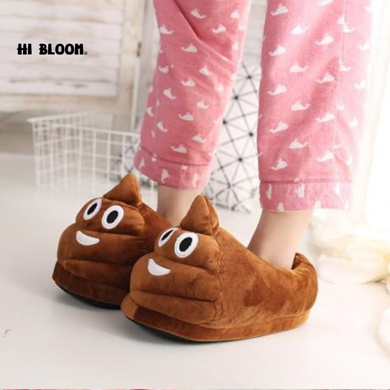 Funny men winter indoor plush shoes lovely gift women children funny men winter indoor plush shoes lovely gift women children stuffed house shoes warm house smiley emoticon slippers negle Gallery