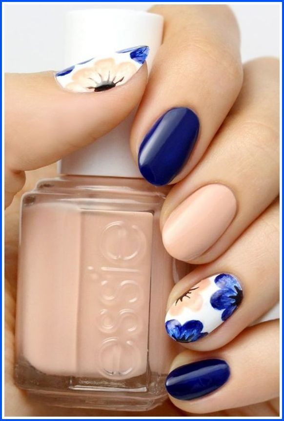 8 Easy Summer Nail Art for Short Nails 2016-4 | nail art love ...