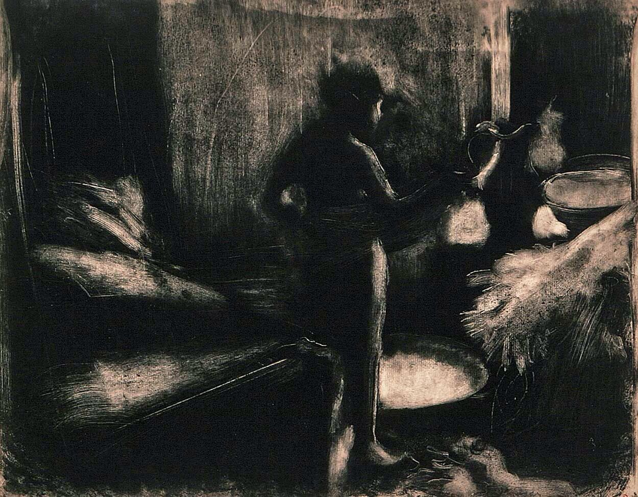 degas Monotype edgar