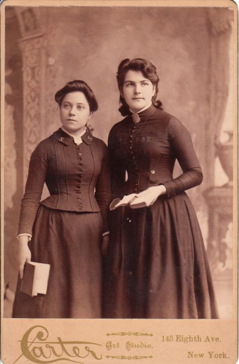 TWO SALVATION ARMY LADIES IN NEW YORK CITY