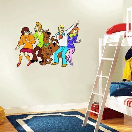 Best Scooby Doo Wall Decal Room Decor 25 X 17 By Room With Me 640 x 480