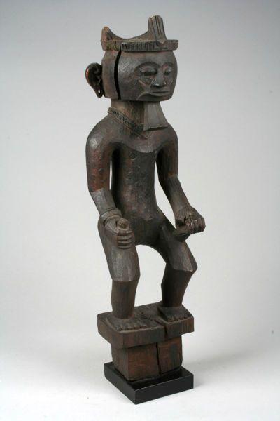 Male ancestor figure (adu zatua), late 19th century-early