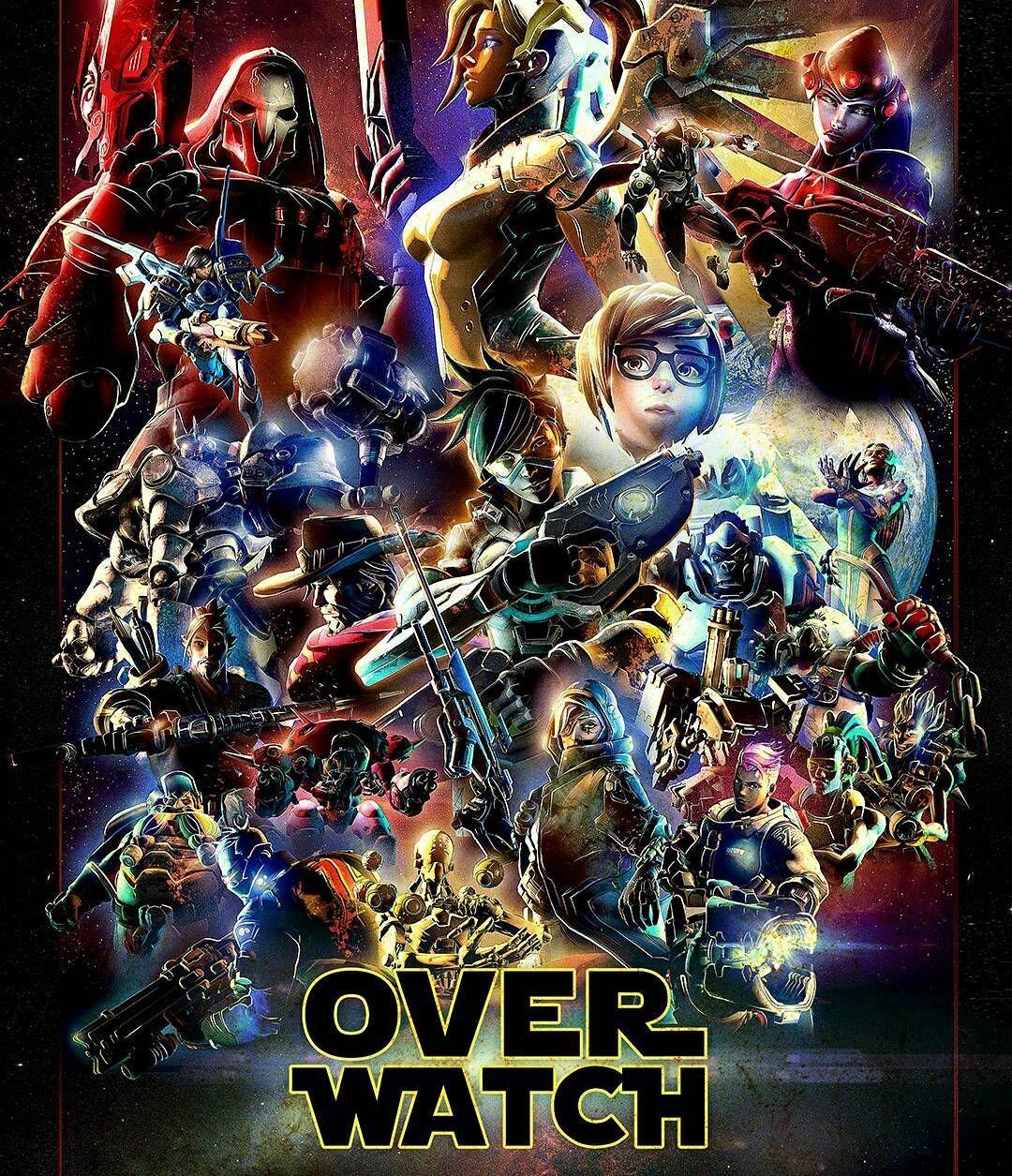Overwatch X Star Wars #OverWatch #StarWars #Playstation4