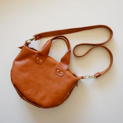 leather bag by Rib & Hull