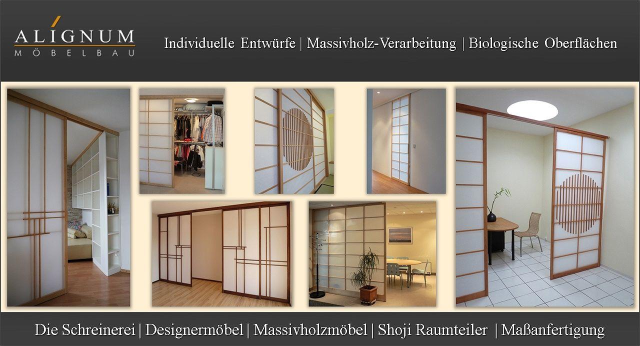 Alignum Möbelbau Schreinerei Für Massivholzmöbel Und Shoji