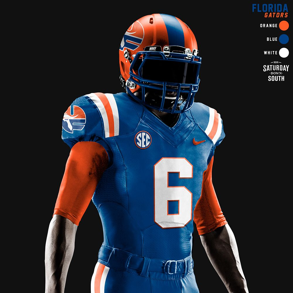 orange gator jersey