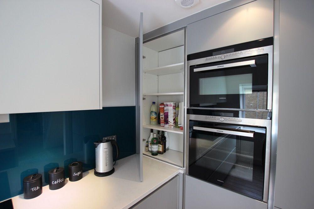 Pearl Grey And White Matt Kitchen From Lwk Kitchens