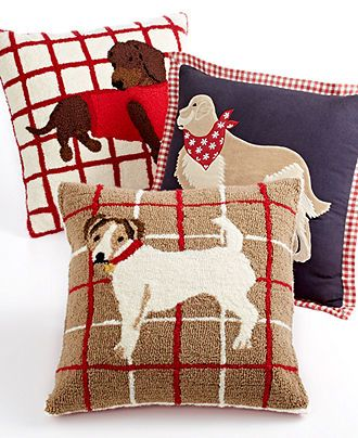 Martha Stewart Collection Dog Decorative Pillows Kitchen Powder Adorable Martha Stewart Collection Bedding Dogs Decorative Pillows