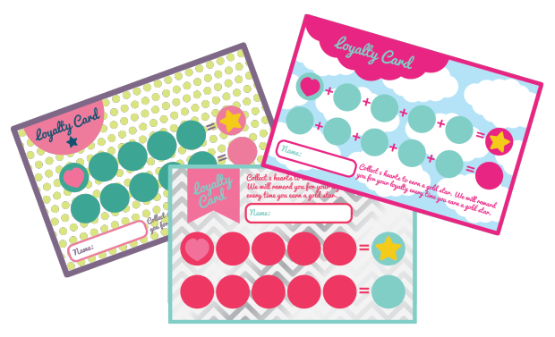 Free Pack Of Loyalty Card Templates Easy Edit Free Freebie - Free printable loyalty card template