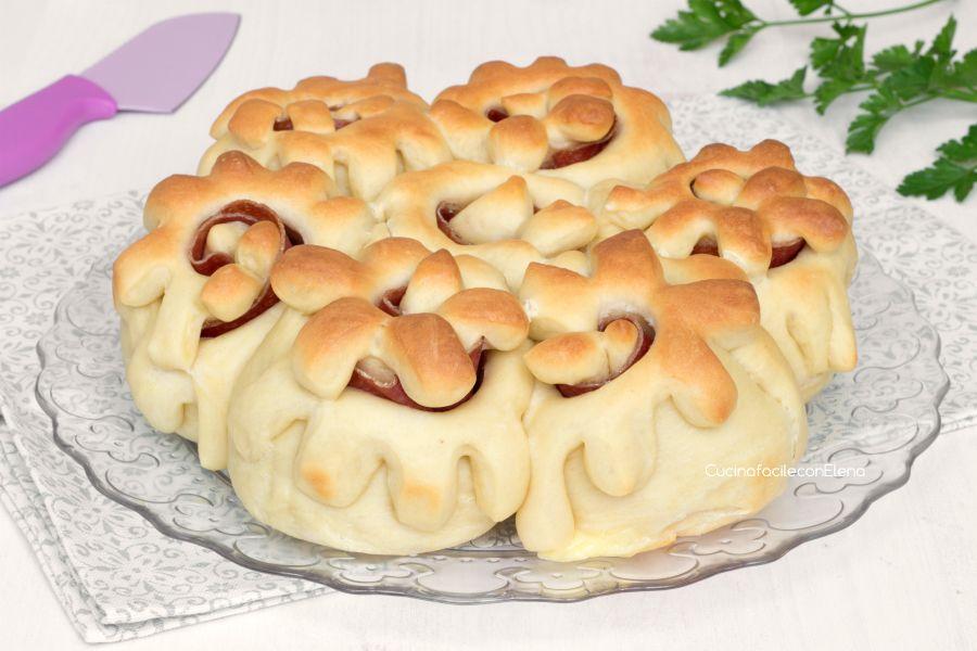 Italian Sfoglia Cake Recipes: Pan Brioche Fiorito Sofficissimo