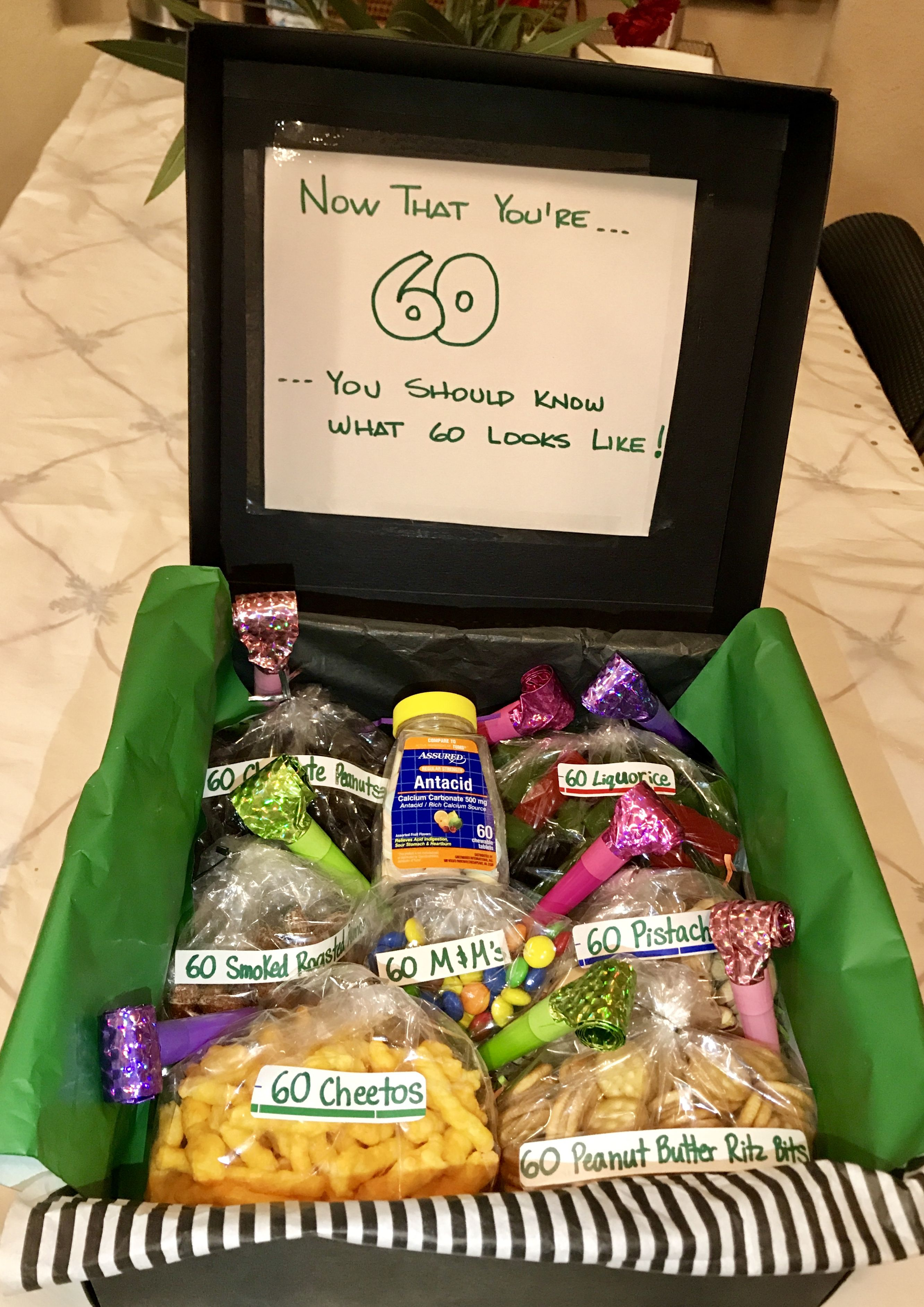 60th Birthday Or 60th Anniversary Gift Basket For 1956 60th